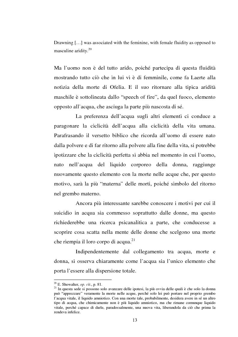 Anteprima della tesi: Le immagini dell'acqua nel teatro di William Shakespeare, Pagina 12