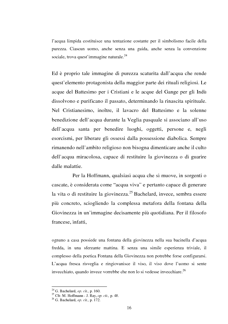Anteprima della tesi: Le immagini dell'acqua nel teatro di William Shakespeare, Pagina 15