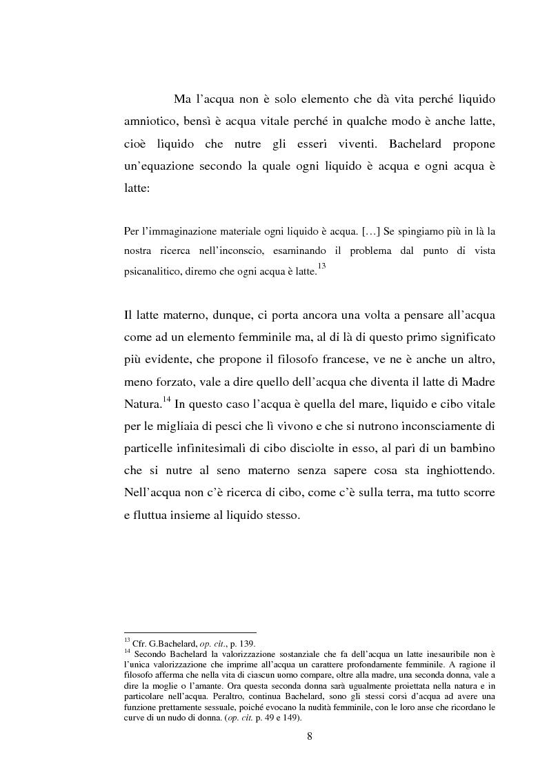 Anteprima della tesi: Le immagini dell'acqua nel teatro di William Shakespeare, Pagina 7