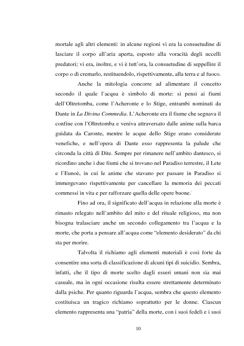 Anteprima della tesi: Le immagini dell'acqua nel teatro di William Shakespeare, Pagina 9