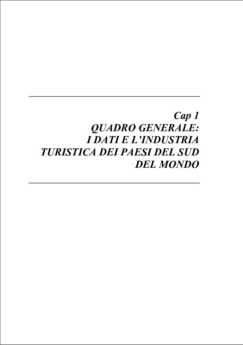 Anteprima della tesi: Turismo sostenibile nel sud del mondo: il caso di Puerto Vallarta, Messico, Pagina 5