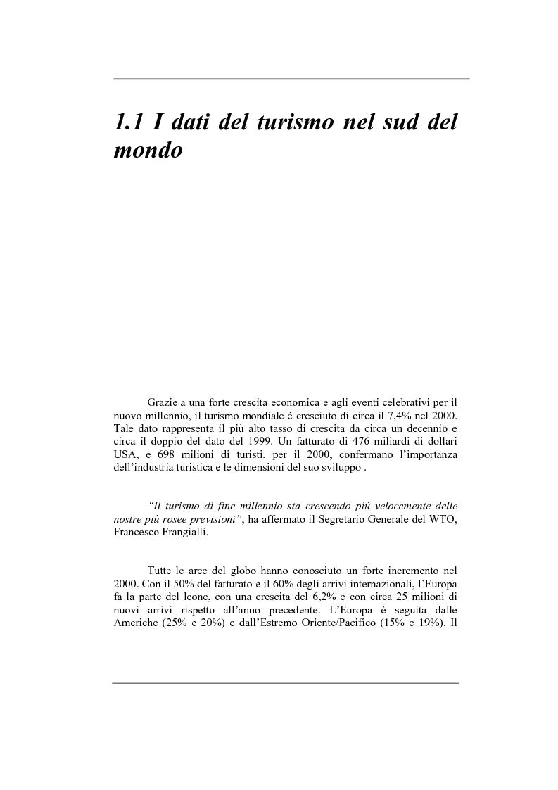 Anteprima della tesi: Turismo sostenibile nel sud del mondo: il caso di Puerto Vallarta, Messico, Pagina 6