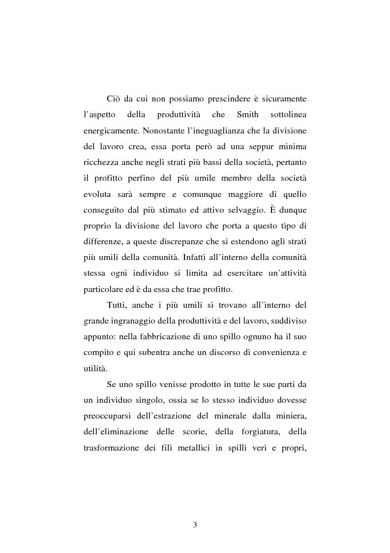 Anteprima della tesi: Amartya Sen lettore di Smith. Osservazioni sulla globalizzazione, Pagina 3