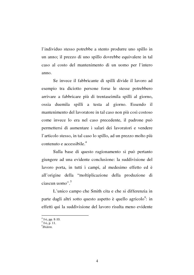 Anteprima della tesi: Amartya Sen lettore di Smith. Osservazioni sulla globalizzazione, Pagina 4
