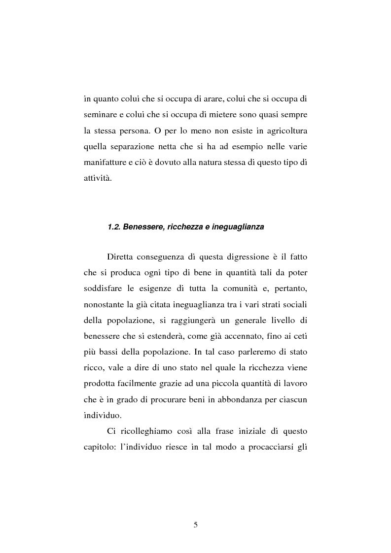 Anteprima della tesi: Amartya Sen lettore di Smith. Osservazioni sulla globalizzazione, Pagina 5