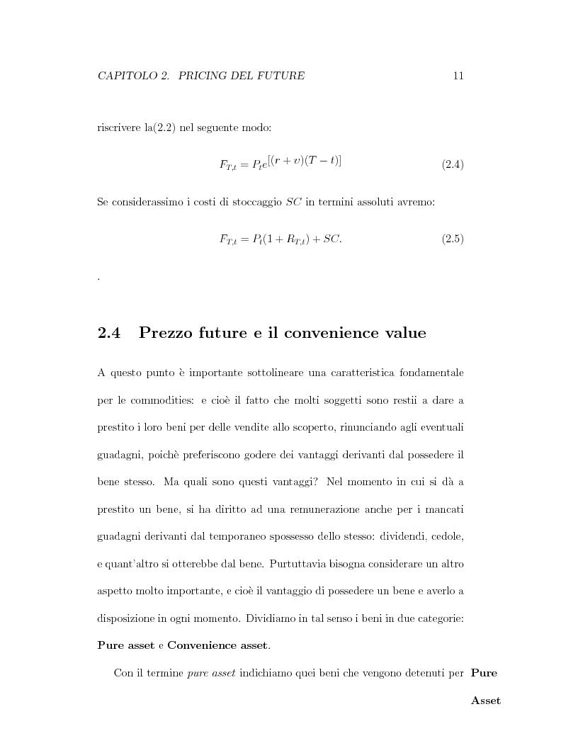Anteprima della tesi: Il pricing dei derivati sul crude oil, Pagina 11