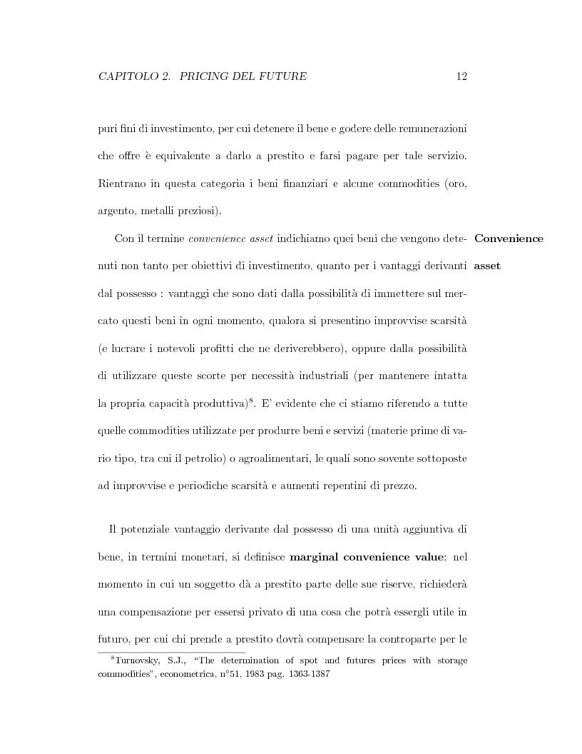 Anteprima della tesi: Il pricing dei derivati sul crude oil, Pagina 12