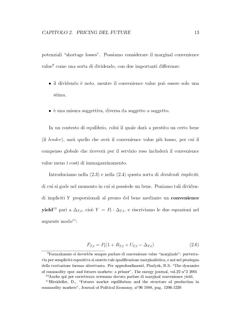 Anteprima della tesi: Il pricing dei derivati sul crude oil, Pagina 13