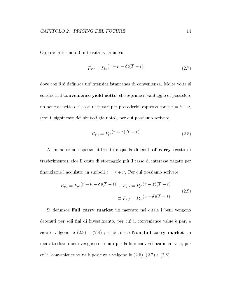 Anteprima della tesi: Il pricing dei derivati sul crude oil, Pagina 14