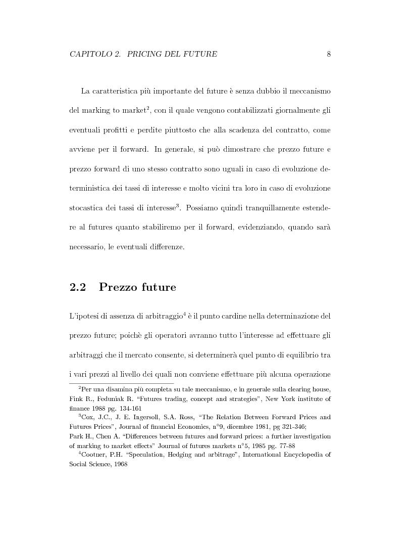 Anteprima della tesi: Il pricing dei derivati sul crude oil, Pagina 8