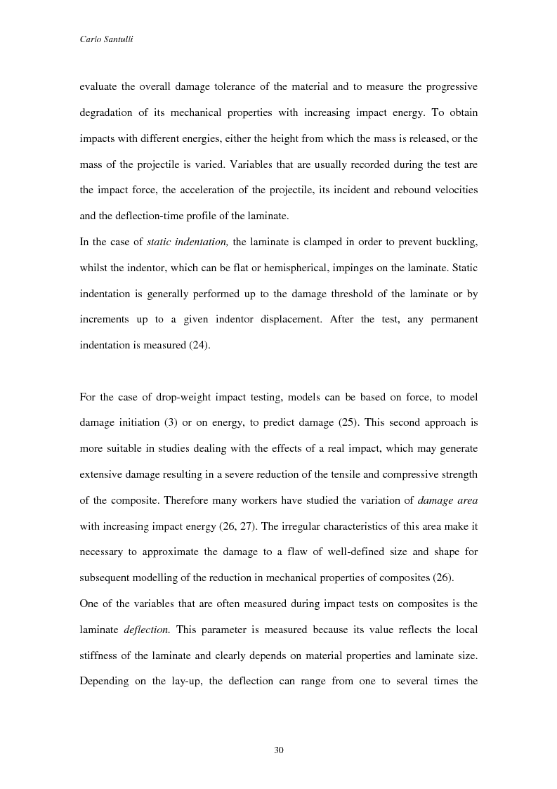 Anteprima della tesi: Impact damage evaluation in woven composites using acoustic and thermoelastic techniques, Pagina 12