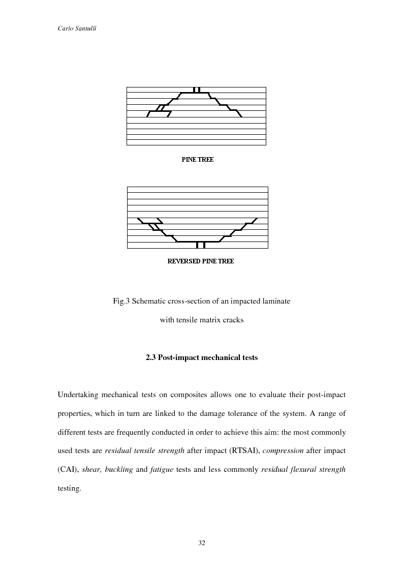 Anteprima della tesi: Impact damage evaluation in woven composites using acoustic and thermoelastic techniques, Pagina 14