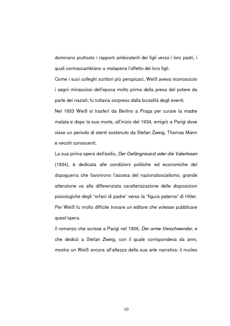 Anteprima della tesi: ''Jarmila. Una storia d'amore boema'' di Ernst Weiss. Traduzione e commento, Pagina 12