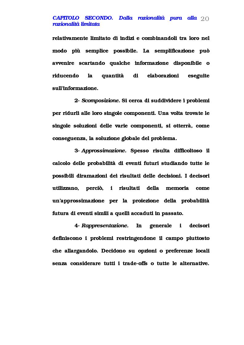 Anteprima della tesi: Comportamento del consumatore e illusioni cognitive, Pagina 15