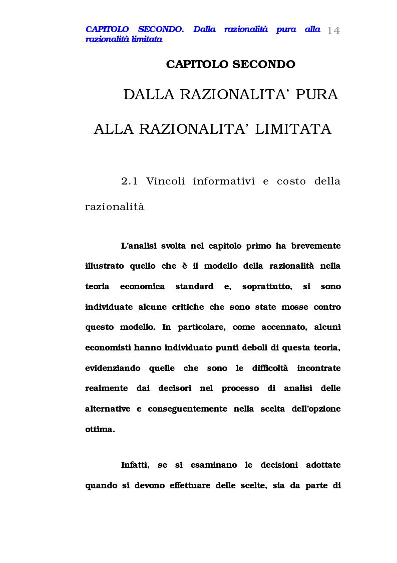 Anteprima della tesi: Comportamento del consumatore e illusioni cognitive, Pagina 9