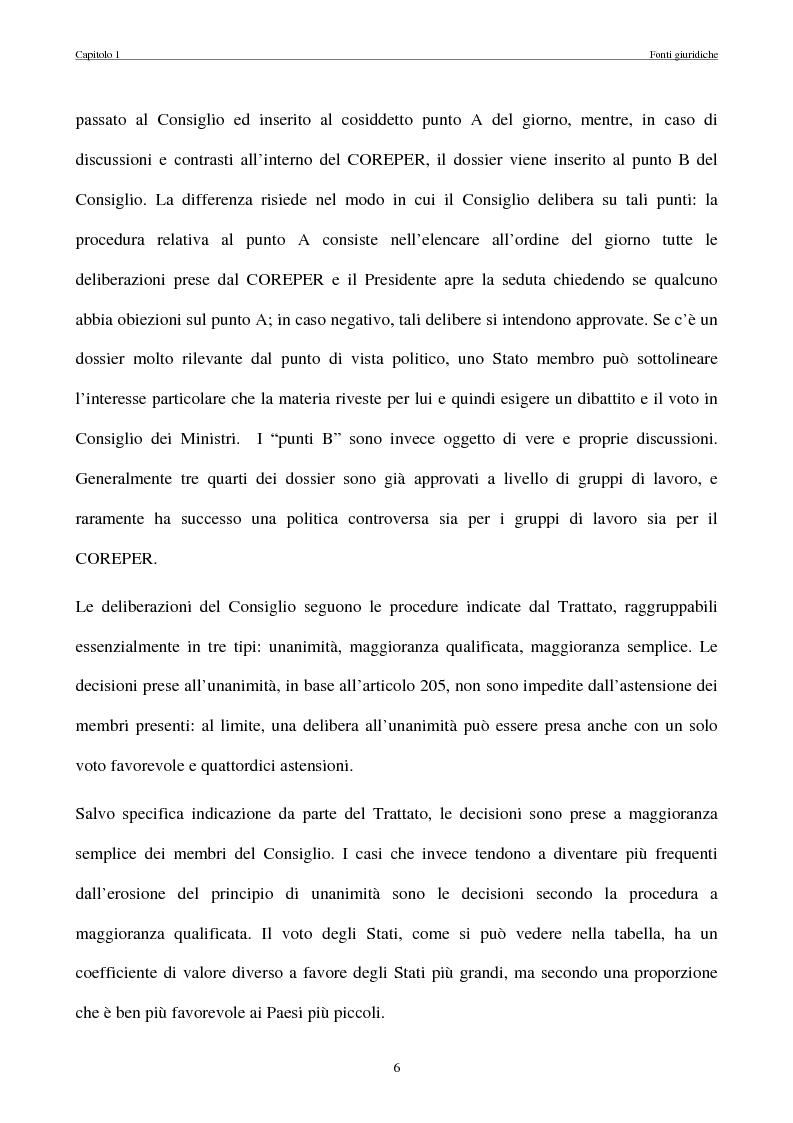 Anteprima della tesi: La politica commerciale estera della UE: l'interazione tra lobbies, Commissione e Consiglio, Pagina 13