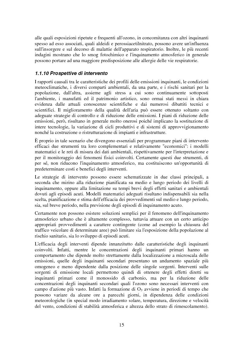 Anteprima della tesi: Applicazione di tecniche di intelligenza artificiale per lo studio della relazione fra l'inquinamento atmosferico e le sue concause, Pagina 13