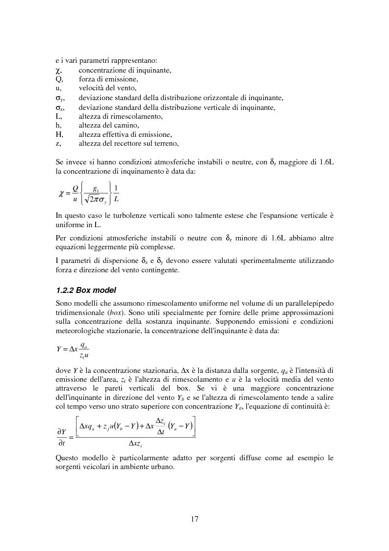 Anteprima della tesi: Applicazione di tecniche di intelligenza artificiale per lo studio della relazione fra l'inquinamento atmosferico e le sue concause, Pagina 15