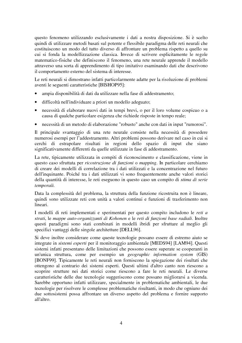 Anteprima della tesi: Applicazione di tecniche di intelligenza artificiale per lo studio della relazione fra l'inquinamento atmosferico e le sue concause, Pagina 2