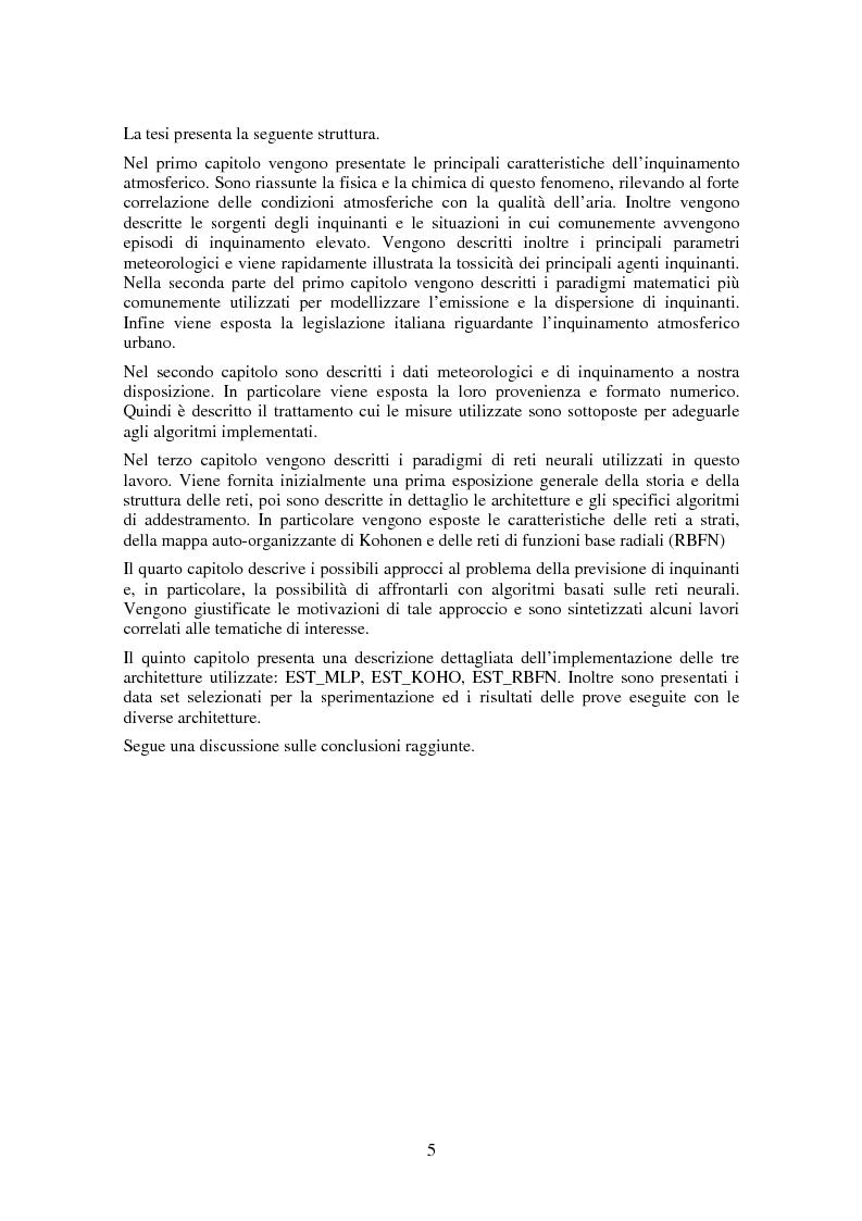 Anteprima della tesi: Applicazione di tecniche di intelligenza artificiale per lo studio della relazione fra l'inquinamento atmosferico e le sue concause, Pagina 3