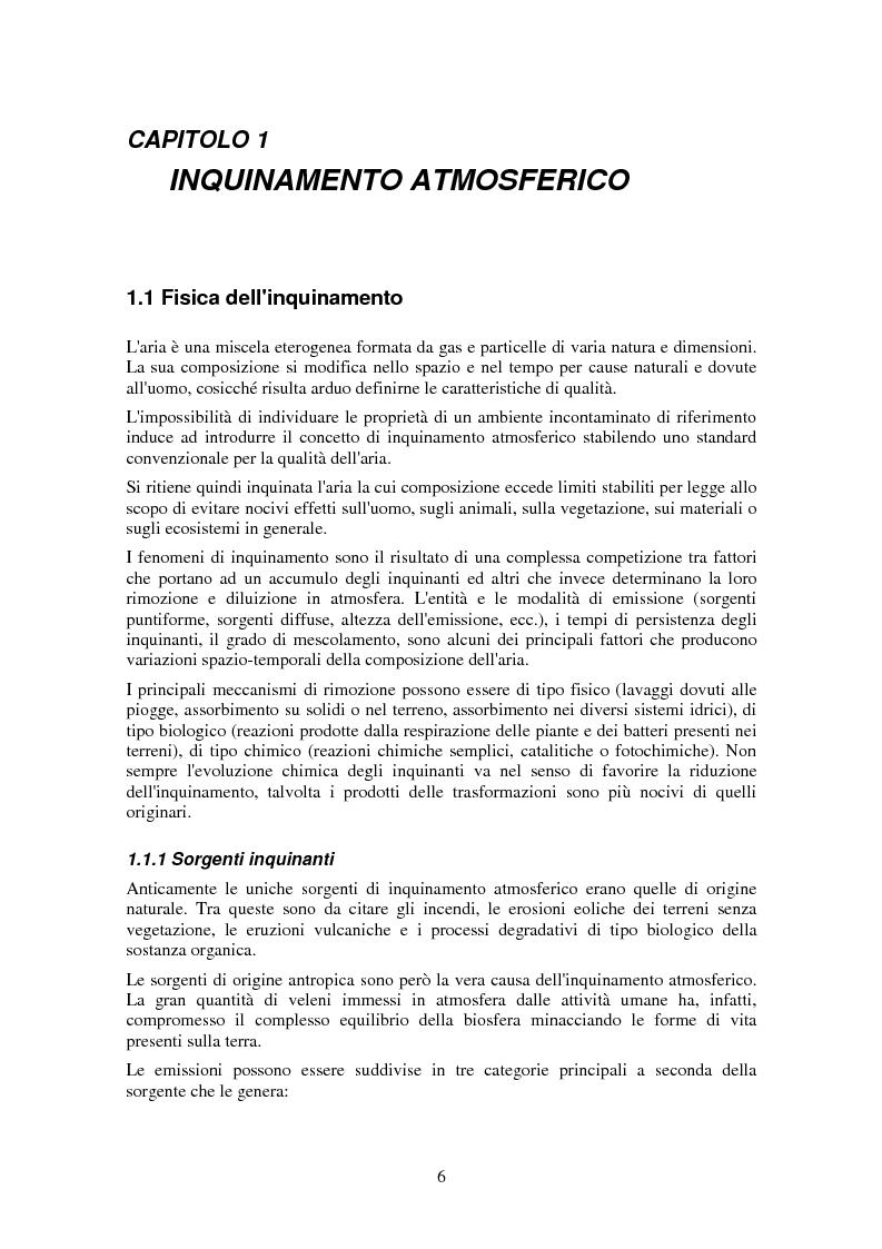 Anteprima della tesi: Applicazione di tecniche di intelligenza artificiale per lo studio della relazione fra l'inquinamento atmosferico e le sue concause, Pagina 4