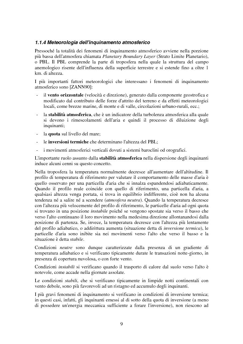 Anteprima della tesi: Applicazione di tecniche di intelligenza artificiale per lo studio della relazione fra l'inquinamento atmosferico e le sue concause, Pagina 7