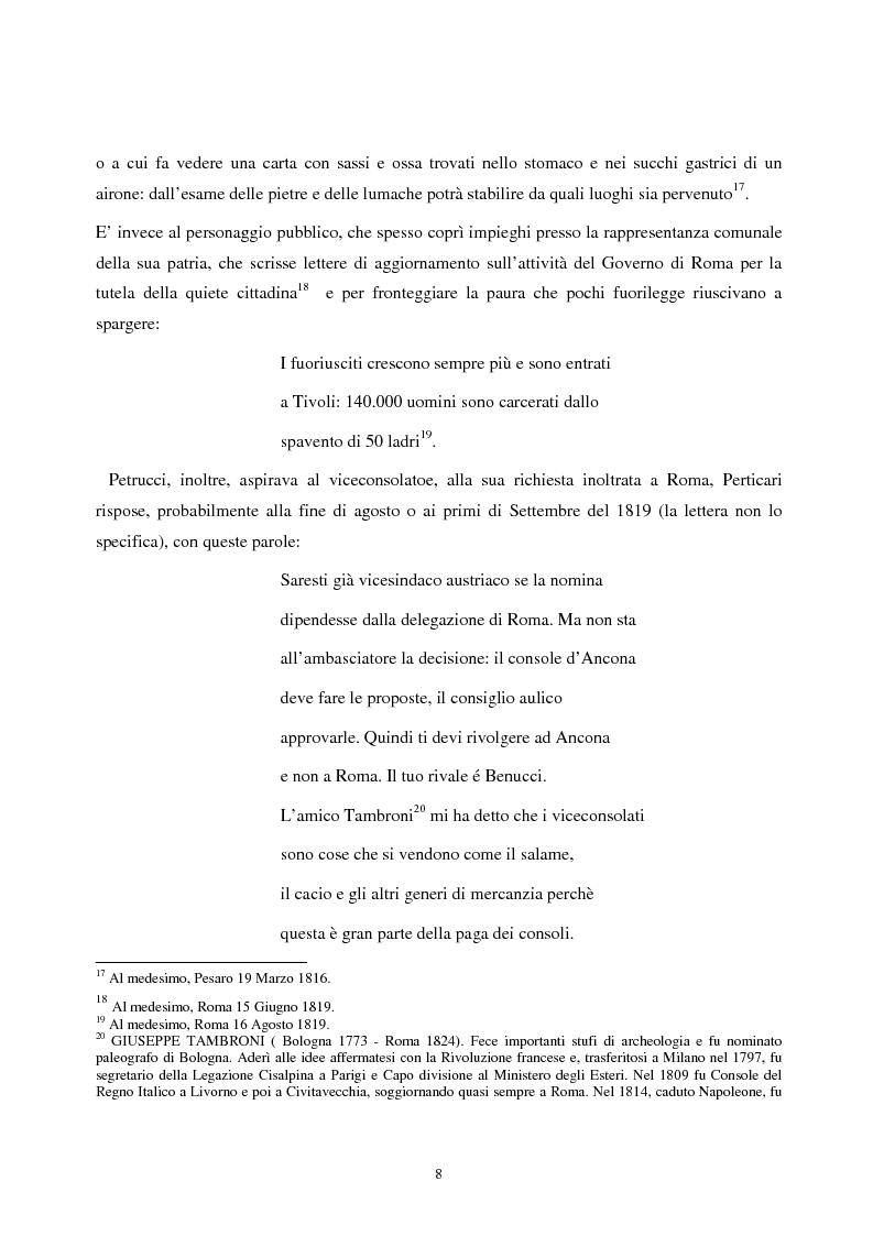 Anteprima della tesi: Le lettere familiari di Giulio Perticari, Pagina 7