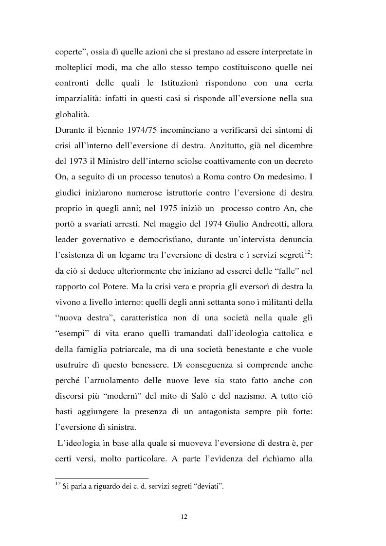 Anteprima della tesi: L'art. 270bis nella più recente giurisprudenza, Pagina 11