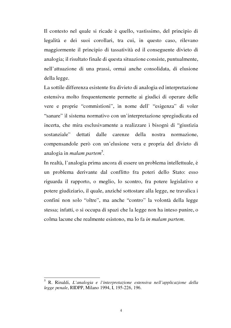Anteprima della tesi: L'art. 270bis nella più recente giurisprudenza, Pagina 3