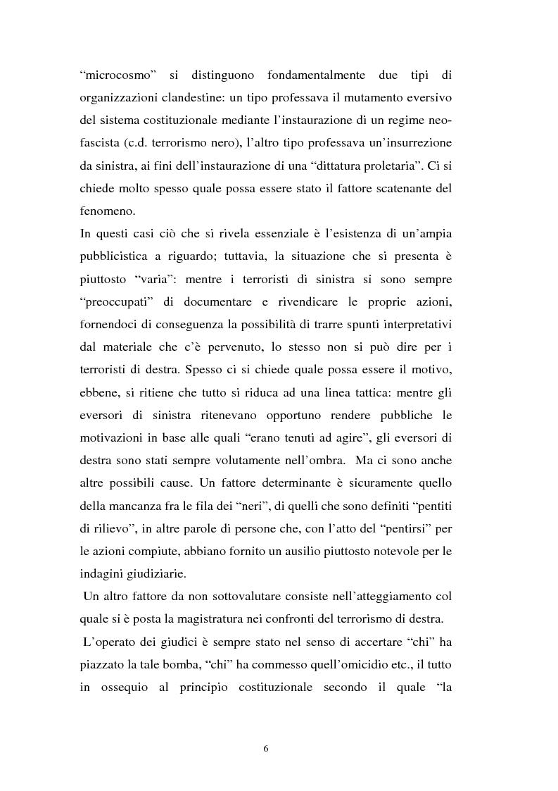 Anteprima della tesi: L'art. 270bis nella più recente giurisprudenza, Pagina 5