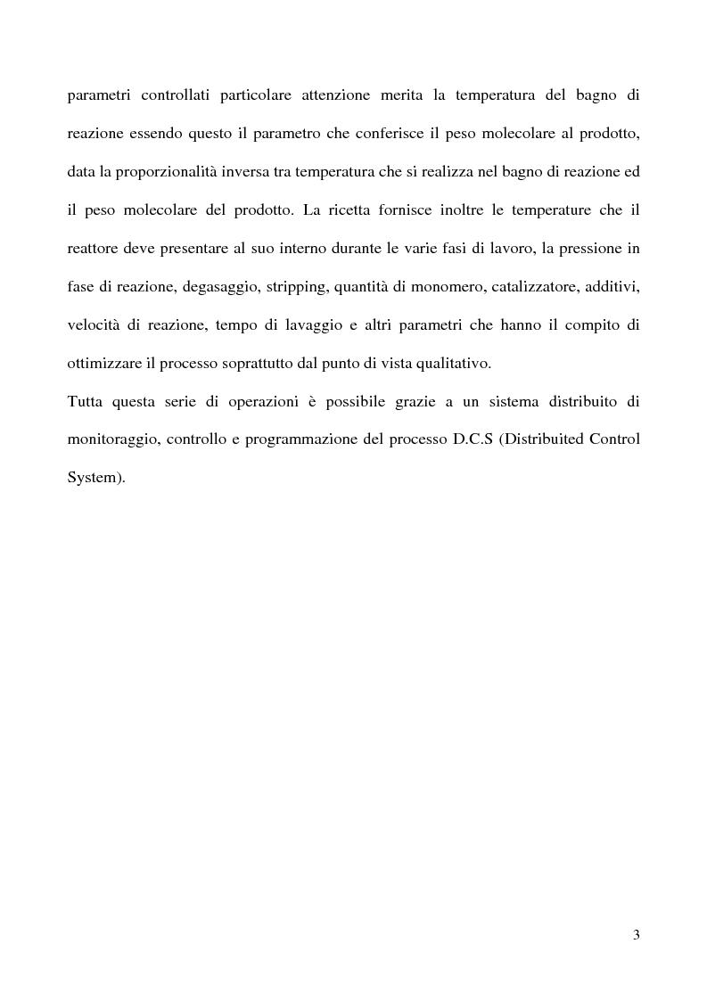 Anteprima della tesi: Analisi del circuito di raffreddamento di un impianto PVC/emulsione e verifica della torre di raffreddamento, Pagina 3