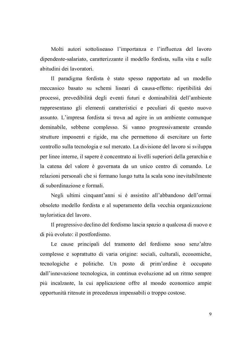 Anteprima della tesi: Giovani, lavoro e qualità della vita. Indagine esplorativa condotta su un campione di lavoratori autonomi e dipendenti, Pagina 6