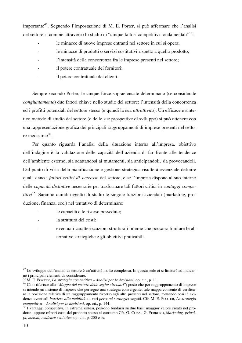Anteprima della tesi: Il controllo di gestione nelle imprese che operano su commessa: il caso del Gruppo Ecotec, Pagina 10