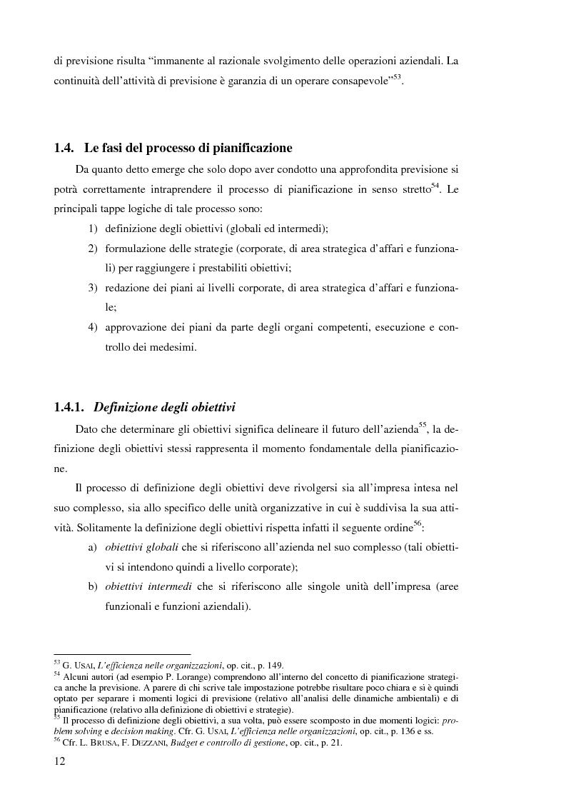 Anteprima della tesi: Il controllo di gestione nelle imprese che operano su commessa: il caso del Gruppo Ecotec, Pagina 12