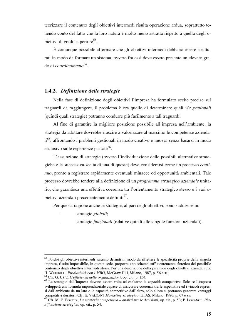 Anteprima della tesi: Il controllo di gestione nelle imprese che operano su commessa: il caso del Gruppo Ecotec, Pagina 15