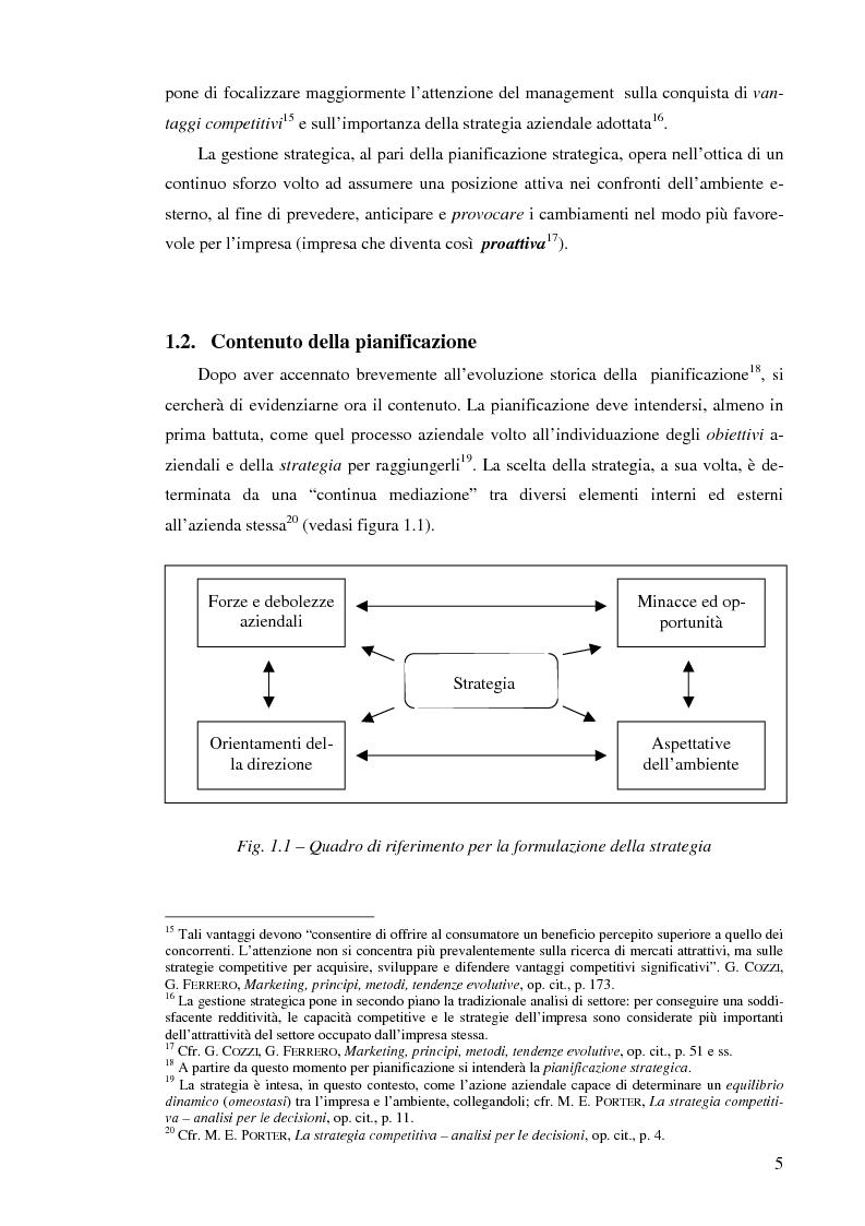 Anteprima della tesi: Il controllo di gestione nelle imprese che operano su commessa: il caso del Gruppo Ecotec, Pagina 5