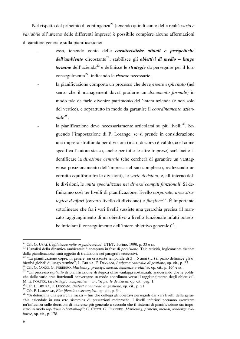 Anteprima della tesi: Il controllo di gestione nelle imprese che operano su commessa: il caso del Gruppo Ecotec, Pagina 6