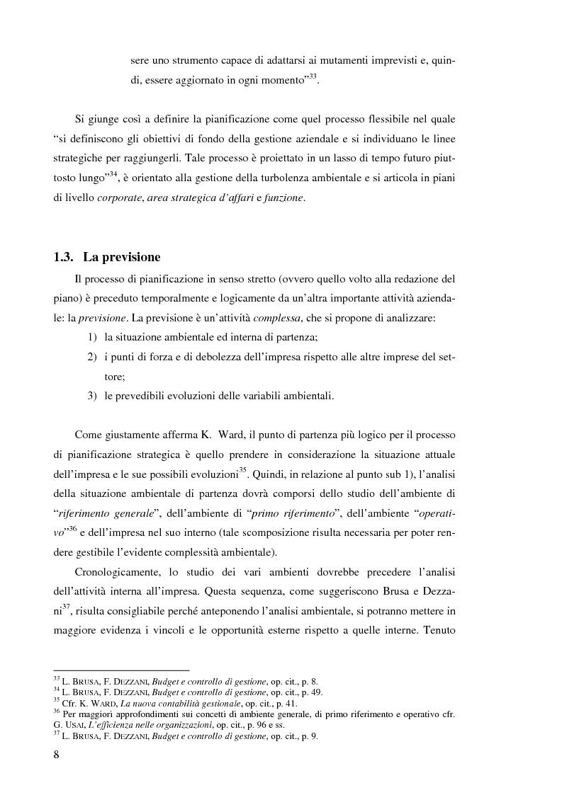 Anteprima della tesi: Il controllo di gestione nelle imprese che operano su commessa: il caso del Gruppo Ecotec, Pagina 8