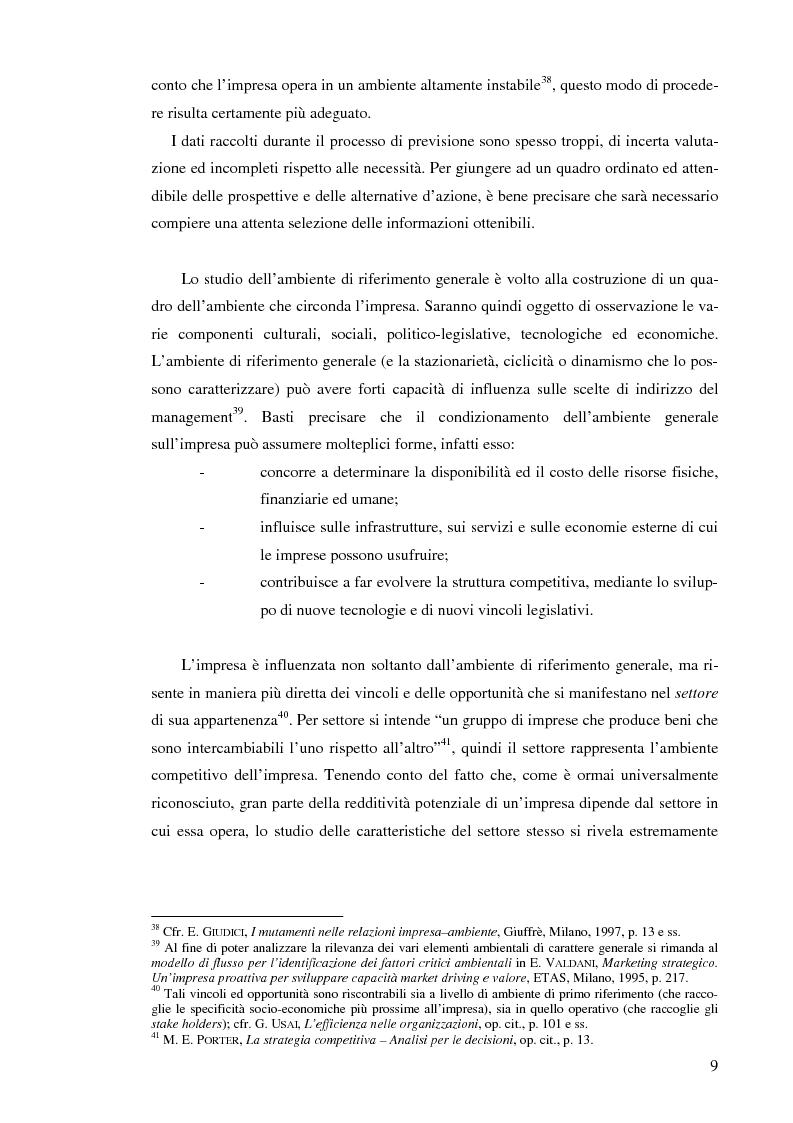 Anteprima della tesi: Il controllo di gestione nelle imprese che operano su commessa: il caso del Gruppo Ecotec, Pagina 9