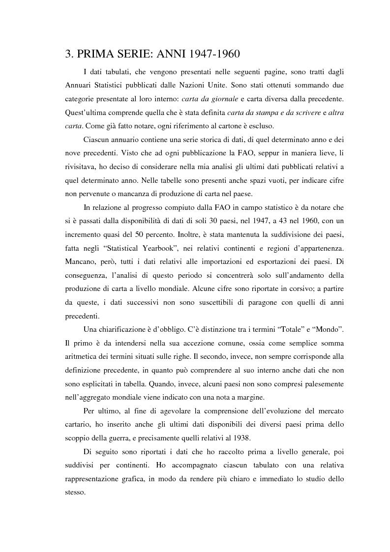 Anteprima della tesi: L'evoluzione del mercato mondiale della carta dal secondo dopoguerra a oggi, Pagina 8