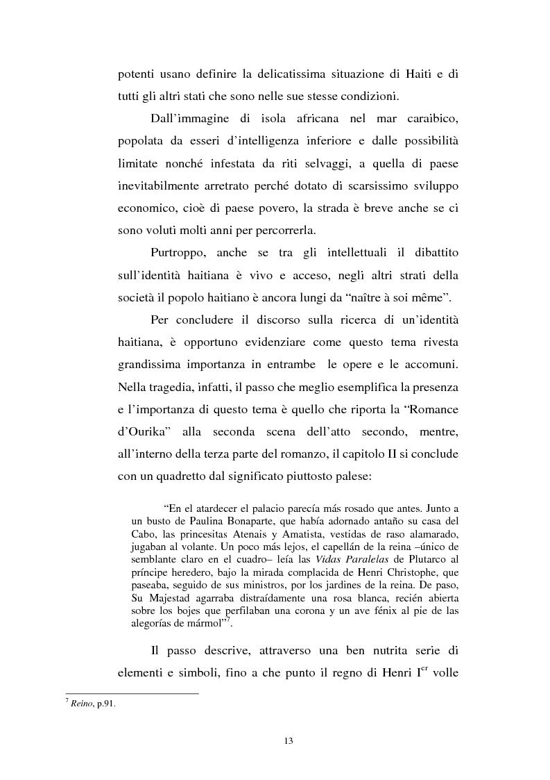 Anteprima della tesi: Le Roi Christophe tra mondo francofono e mondo ispanofono: Aimè Cèsaire e Alejo Carpentier, Pagina 13