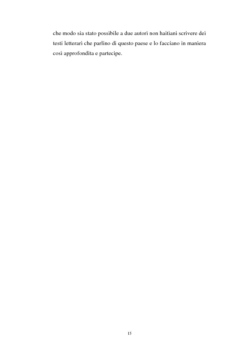 Anteprima della tesi: Le Roi Christophe tra mondo francofono e mondo ispanofono: Aimè Cèsaire e Alejo Carpentier, Pagina 15