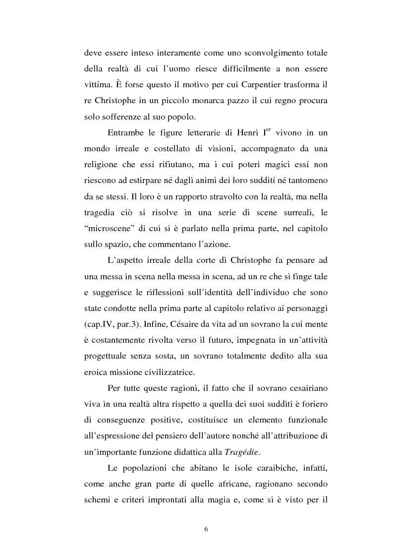 Anteprima della tesi: Le Roi Christophe tra mondo francofono e mondo ispanofono: Aimè Cèsaire e Alejo Carpentier, Pagina 6