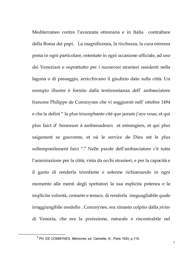 Anteprima della tesi: Tra politica e letteratura: il mito di Venezia, Pagina 4