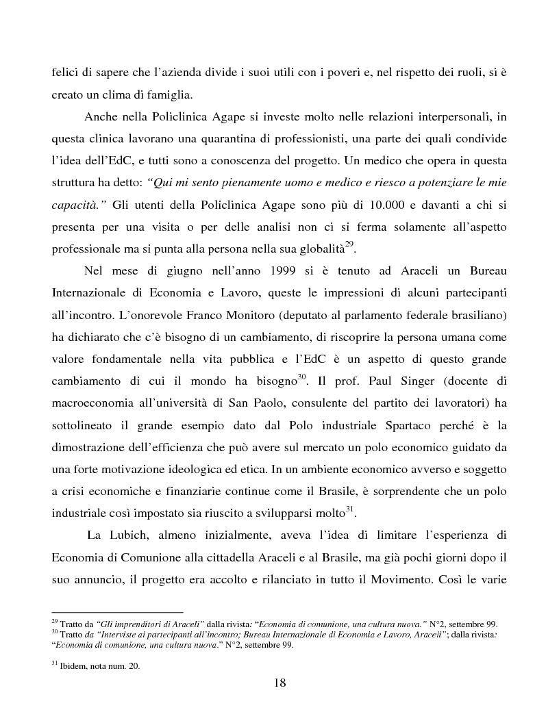 Anteprima della tesi: Le metafore organizzative nelle aziende di economia di comunione: tra metafora e realtà, Pagina 12