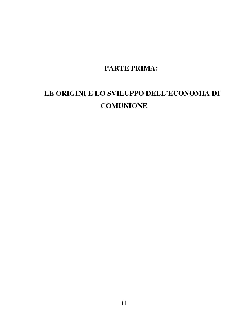 Anteprima della tesi: Le metafore organizzative nelle aziende di economia di comunione: tra metafora e realtà, Pagina 5