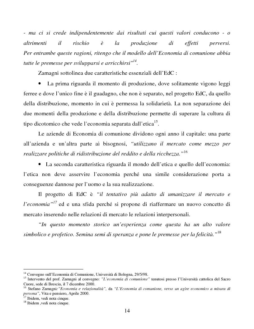 Anteprima della tesi: Le metafore organizzative nelle aziende di economia di comunione: tra metafora e realtà, Pagina 8