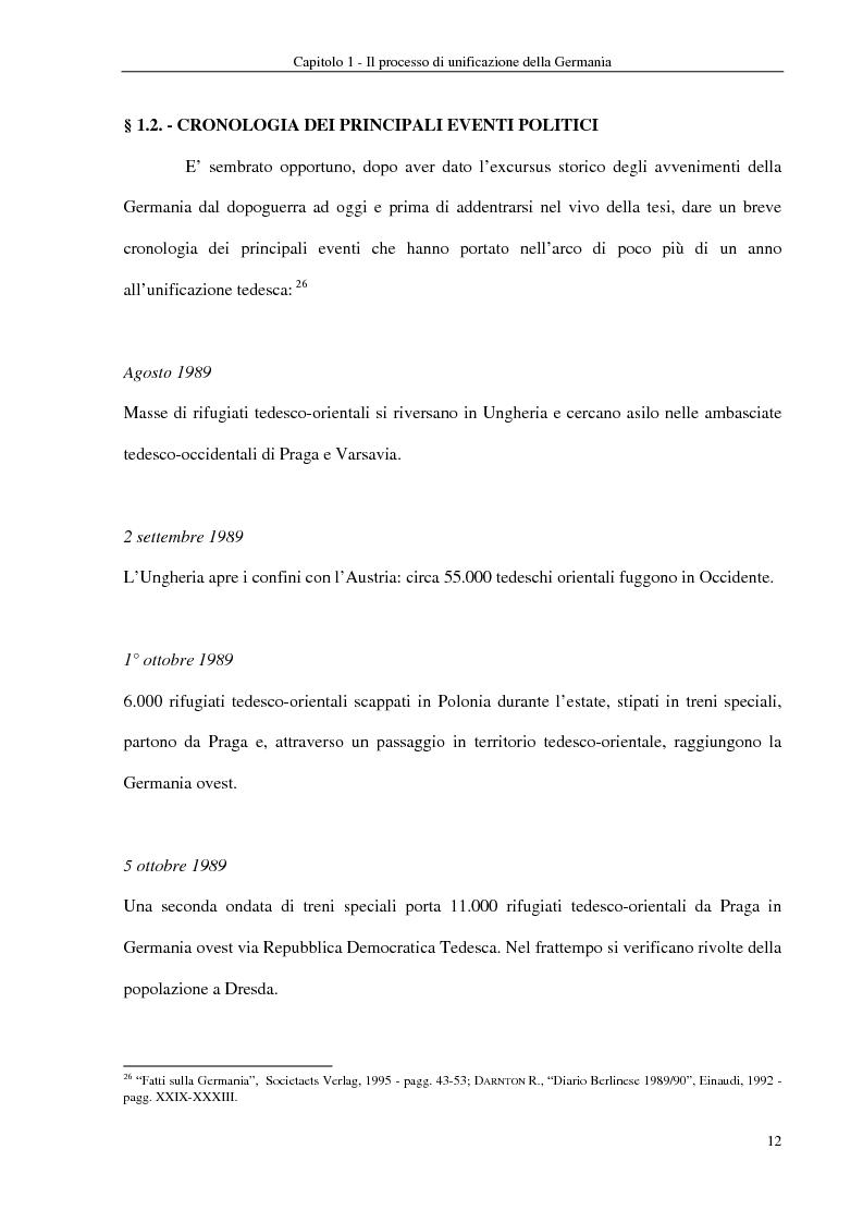 Anteprima della tesi: Interventi economici e politici per lo sviluppo dei nuovi laender tedeschi, Pagina 12
