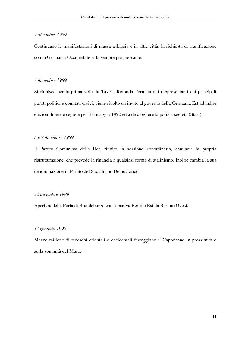 Anteprima della tesi: Interventi economici e politici per lo sviluppo dei nuovi laender tedeschi, Pagina 14
