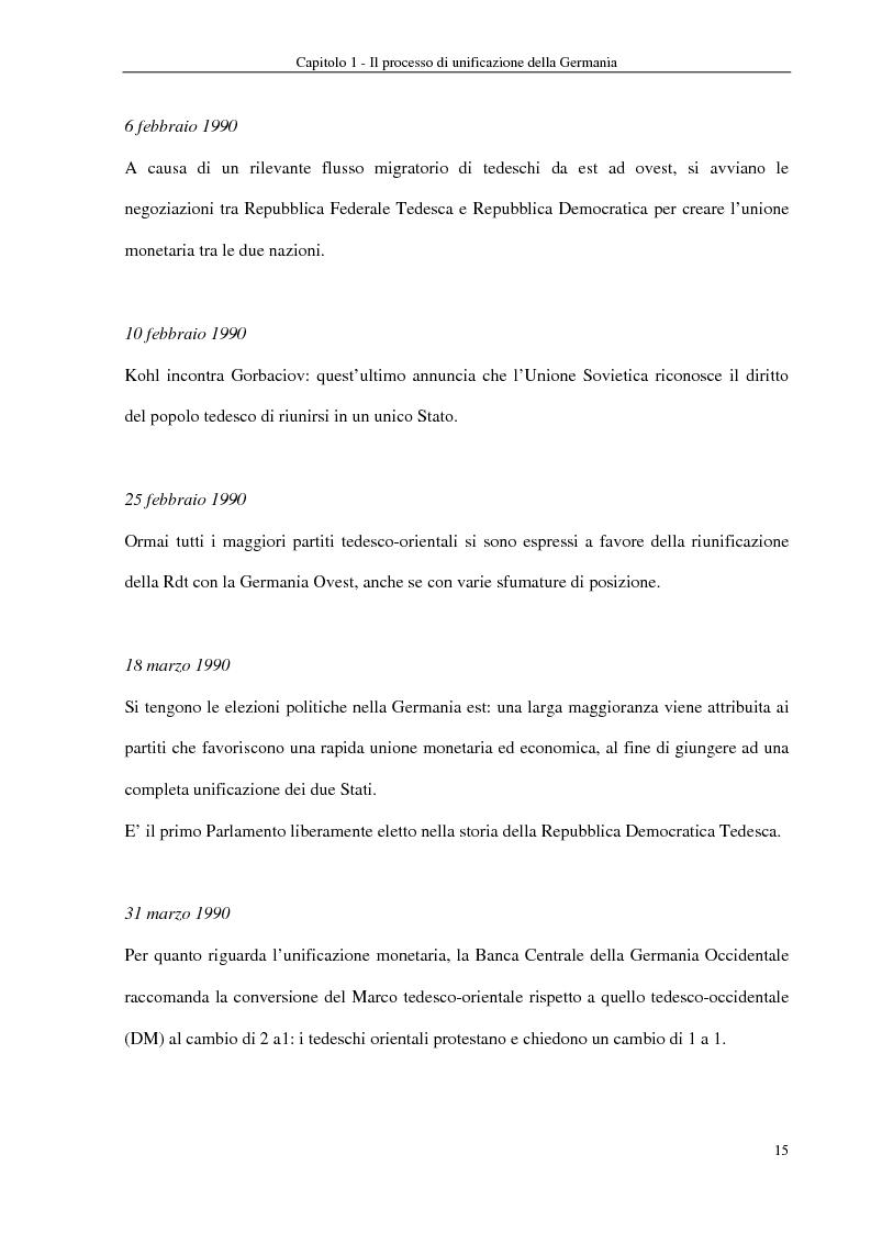 Anteprima della tesi: Interventi economici e politici per lo sviluppo dei nuovi laender tedeschi, Pagina 15